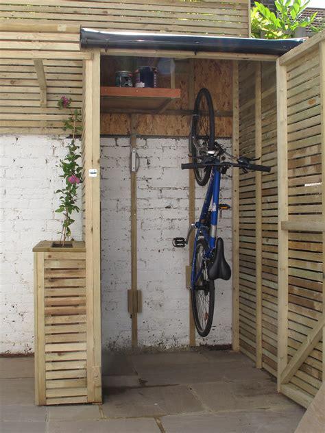 creative driveway bike storage ideas