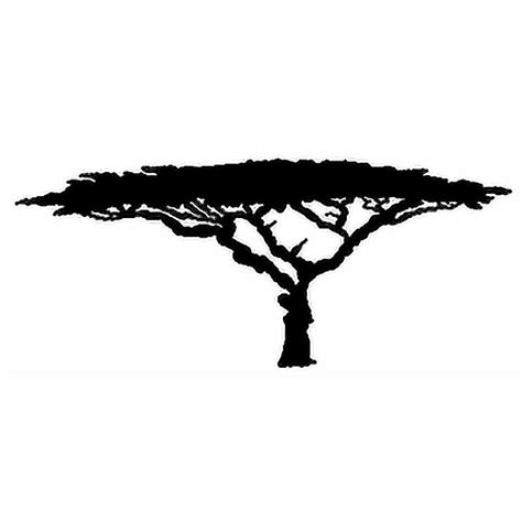 best free clipart best free trees clipart acacia tree silhouette image