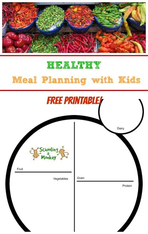 printable healthy dinner recipes free printable activities and healthy meals on pinterest