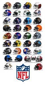 Nfl team helmet logos nfl helmet redesign all 32 teams concepts