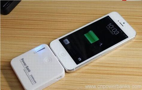 Power Bank Iphone mini power bank 2200mah for iphone 5 portable charger hengye factory store