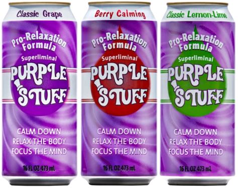 The Purple Stuff Detox Drink by Purple Stuff Lands Distribution At Timewise Convenience