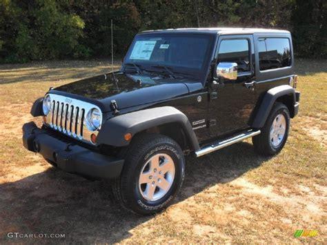 2012 Black Jeep Wrangler 2012 Black Jeep Wrangler Sport S 4x4 55757053 Gtcarlot