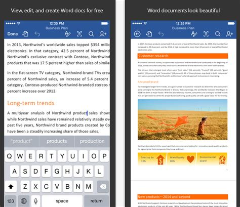 microsoft office free for mobile microsoft office mobile is now free for ios