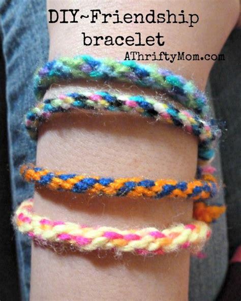 friendship bracelet easy diy