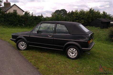 volkswagen golf 1985 1985 volkswagen golf gti cabriolet