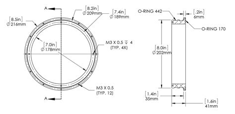 Drawing O Ring Solidworks by Watertight Enclosure Documentation