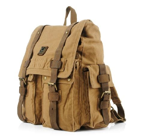 canvas rucksack backpack for canvas rucksacks for unusualbag