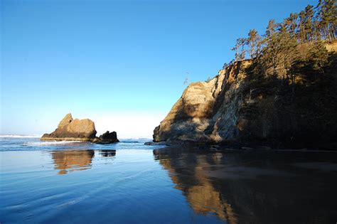 arcadia beach park oregon coast flickr photo sharing