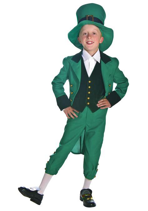 costume for child leprechaun costume