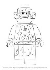 learn how to draw lego ultron lego step by step