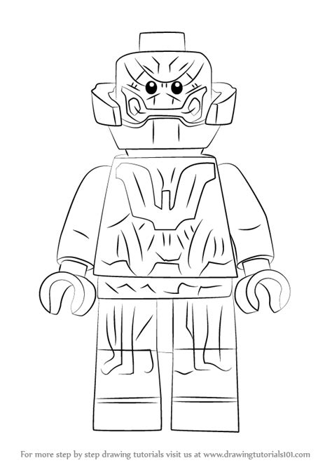 lego ultron coloring pages learn how to draw lego ultron lego step by step