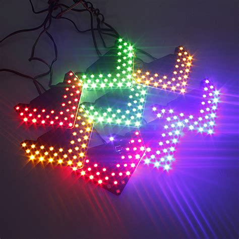 Turn Signal Led Mirror Blue Vision Freed car 33 smd sequential led arrows side mirror turn signal