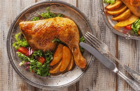 oven roasted chicken leg quarters recipe sparkrecipes