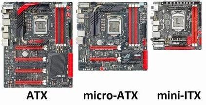 mini atx motherboards atx vs micro atx vs mini itx which should