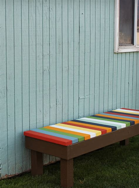 outdoor bench colors 25 remarkable diy outdoor bench for your garden