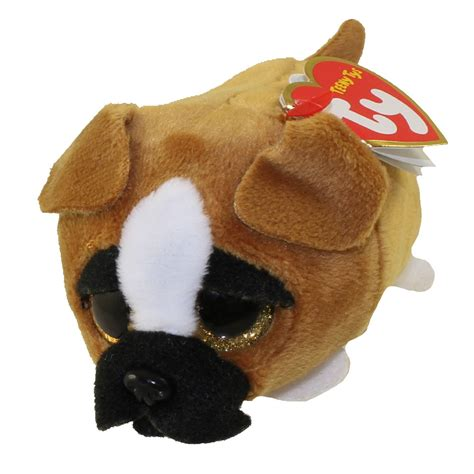 ty beanie boos teeny tys stackable plush diggs  dog