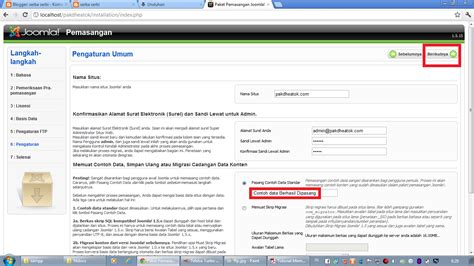 membuat website organisasi dengan joomla serba serbi membuat website dengan joomla
