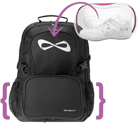 infinity shoes cheer cheerandpom what we re loving nfinity backpack