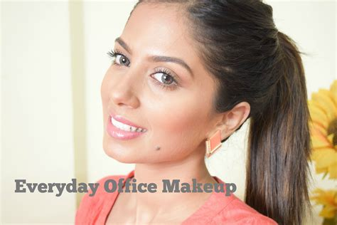 natural makeup tutorial for indian skin everyday office makeup for indian brown olive skin youtube