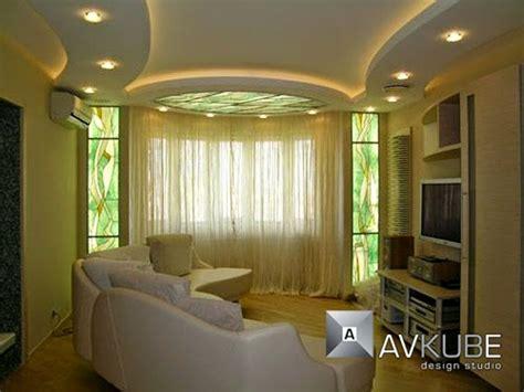 Dining Room Gypsum Design 25 Original Ceiling Styles With Integrated Lighting