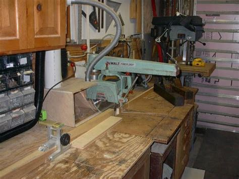 Workhome Idea Radial Arm Saw Bench Plans