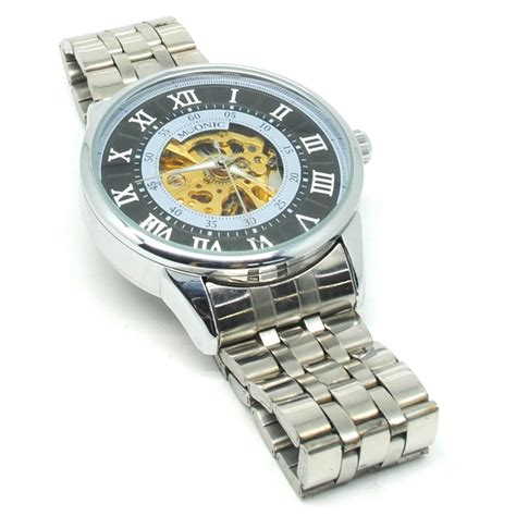 Jam Tangan Silver Qs 01 ess jam tangan mechanical wm479 480 silver black jakartanotebook