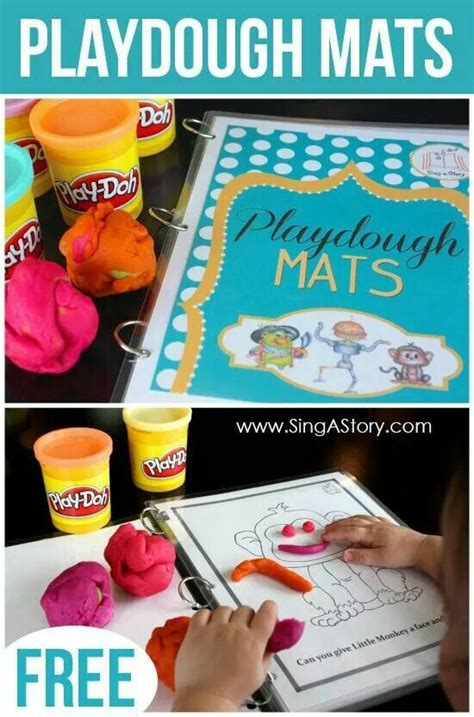 free printable christmas playdough mats 17 best images about fun with playdough on pinterest