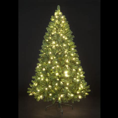 150cm 5ft pre lit carson spruce christmas tree with 160