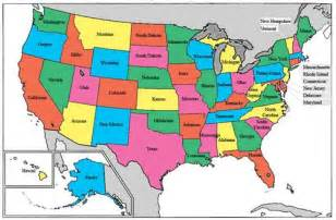 Usa 50 States Map by Social Studies Station Marvelous Map Skills