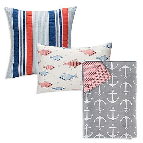 glenna jean bedding glenna jean fish tales bedding collection bed bath beyond