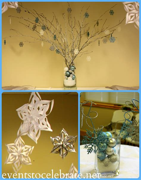frozen decorations ideas frozen ideas archives events to celebrate