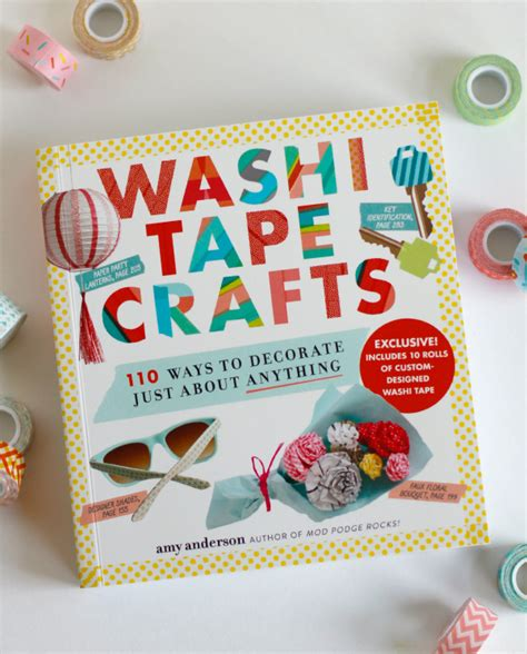 washi crafts washi crafts book review make and takes