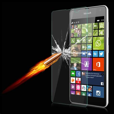 Nokia Microsoft Lumia 650 Screen Mirror Screen Protector tempered glass screen protector for microsoft nokia lumia 535 650 550 640 xl 630 635