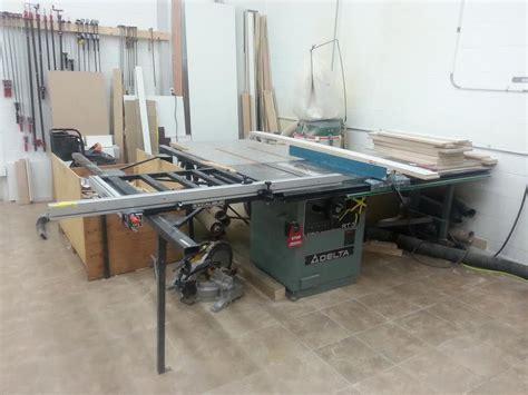 excalibur sliding table saw fence delta rt 31 tablesaw with excalibur sliding fence duncan