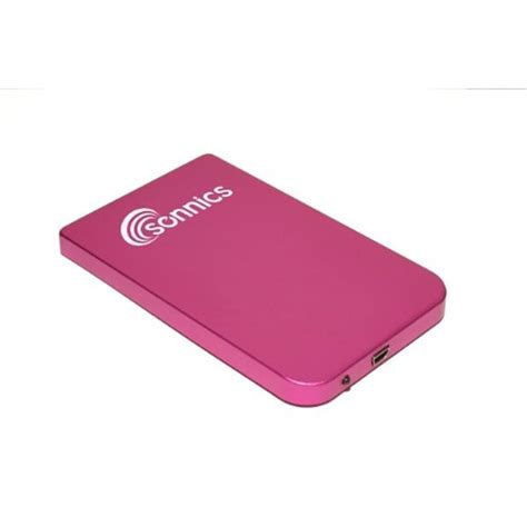 Memory External 250gb sonnics 250gb usb 2 0 portable external 2 5 quot drive storage pink for pc new ebay