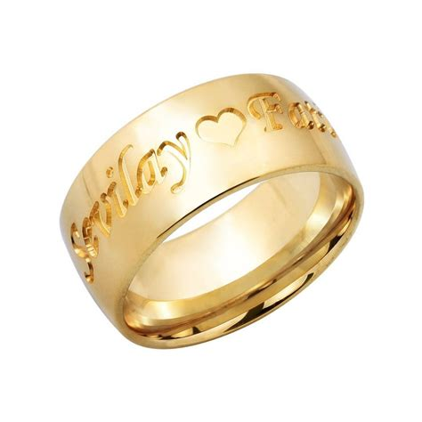 Wedding Ring Design India by 15 Collection Of Wedding Rings With Name Engraved
