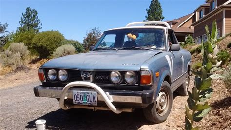 subaru 4x4 1979 subaru brat 4x4 manual for sale in river oregon