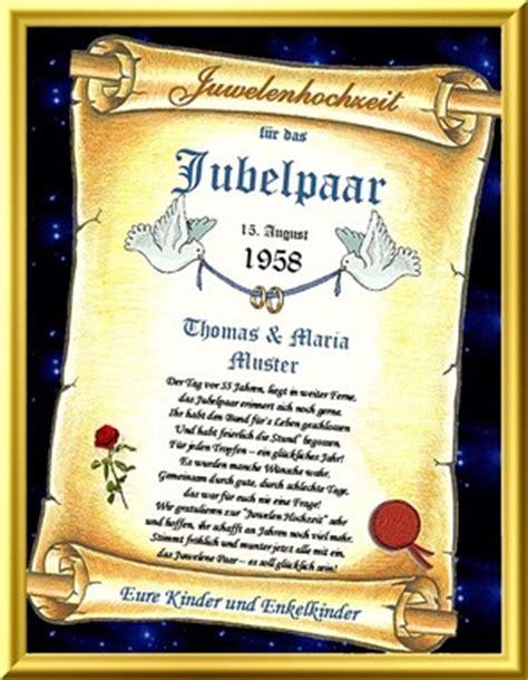 Hochzeit 55 Jahre by 55 Hochzeitstag Juwelen Hochzeit Urkunden Als Geschenk