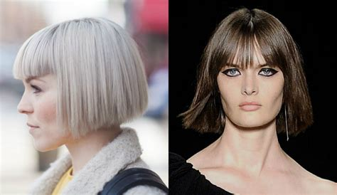 Bob Hairstyles With Bangs by Best Bob Haircuts With Bangs Hairdrome