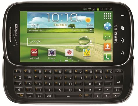 samsung galaxy stratosphere  gb android smartphone