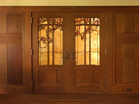 stained glass doors interior stained glass doors theodore ellison designs regarding