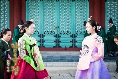 Baju Hanbok Jang Ok Jung jang hee bin bukan akhir dari sebuah
