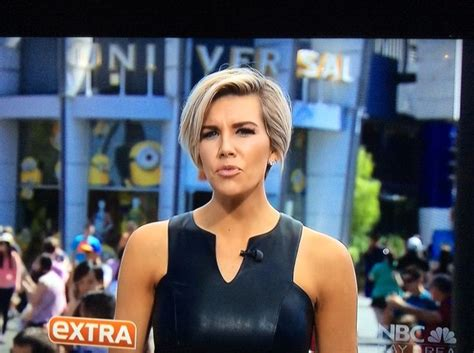 extra reoorter haircut 17 best images about charissa thompson hair on pinterest