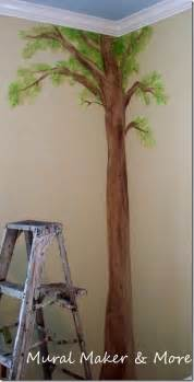 How To Paint A Mural On A Wall How To Paint A Simple Tree Mural Just Paint It Blog