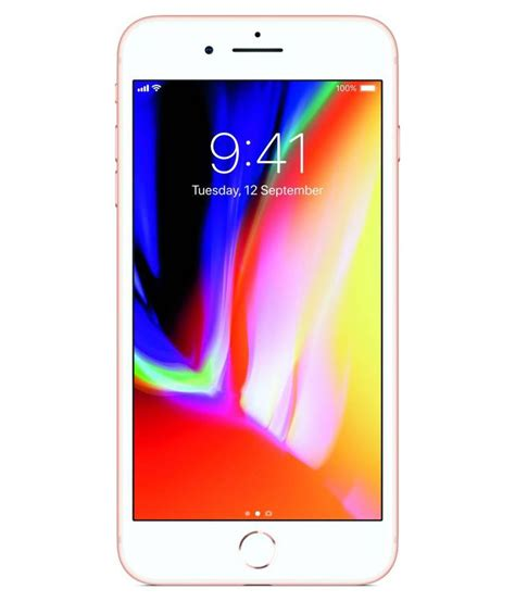 apple iphone 8 plus 64gb mobile phones at low prices snapdeal india