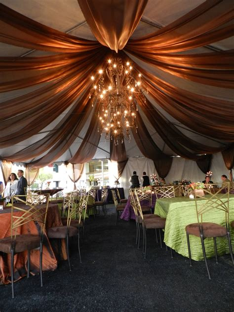 how to drape a tent ceiling encore room copper ceiling fabric drape tables tent