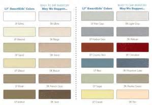 kote colors lp smartside color palette for kote pre finishing