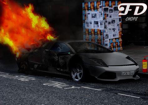 Lamborghini Burning Burning Lamborghini By Fady Pak On Deviantart