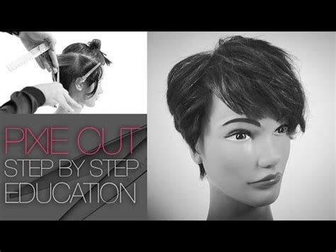 How To Cut A Pixie Cut Step By Step | how to cut the tyra banks pixie haircut step by step q